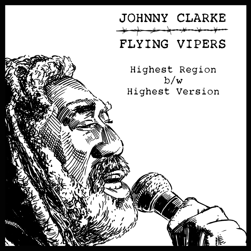 Johnny Clarke Meets Flying Vipers